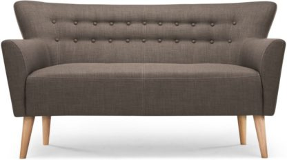 An Image of Quentin 2 Seater Sofa, Urban Grey
