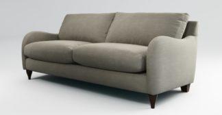 An Image of Custom MADE Sofia 3 Seater Sofa, Athena Putty
