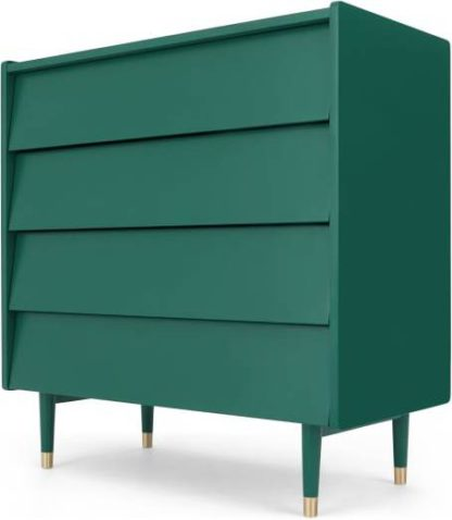 An Image of Hetty Chest of Drawers, Racing Green