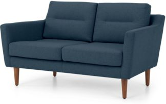 An Image of Walker 2 Seater Sofa, Orleans Blue