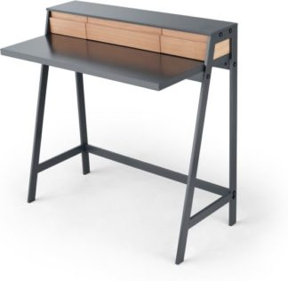 An Image of Finnick Dressing Table, Pine and Grey
