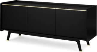 An Image of Albers Sideboard, Black Stained Oak