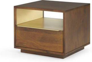An Image of Anderson Bedside Table, Mango Wood