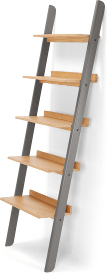 An Image of Kleur Shelves, Pine and Grey