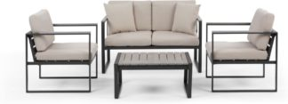 An Image of Catania Garden Lounge Set, Polywood