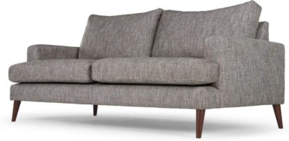 An Image of Content by Terence Conran Hewitt 3 Seater Sofa, Pebble Textured Weave