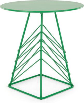An Image of Tega Garden Bistro Table, Green