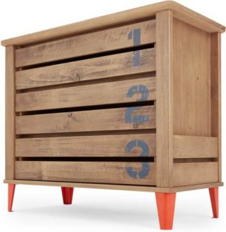 An Image of Aldgate Chest of Drawers, Red