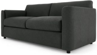 An Image of Baen 2 Seater Sofa Bed, Sterling Grey