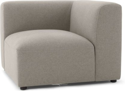 An Image of Juno Modular Corner End Seat, Manhattan Grey