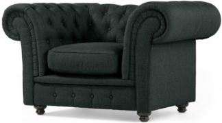 An Image of Branagh Armchair, Anthracite Grey