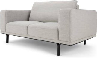 An Image of Nocelle 2 Seater Sofa, Chic Grey