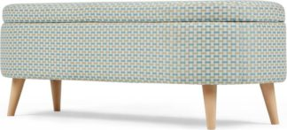 An Image of Lulu Ottoman Weave, Honeycomb Weave