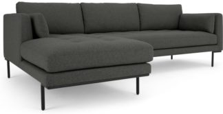 An Image of Harlow Left Hand Facing Chaise End Corner Sofa, Hudson Grey