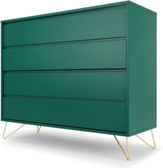 An Image of Elona Chest Of Drawers, Racing Green