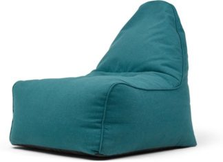 An Image of Ayra Bean Bag Chair, Mineral Blue