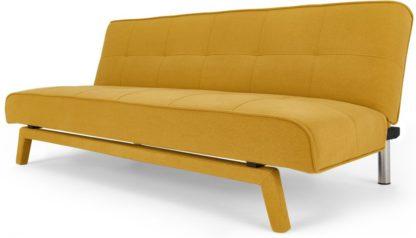 An Image of Yoko Sofa Bed, Butter Yellow