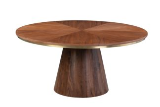An Image of Brewster Walnut Dining Table