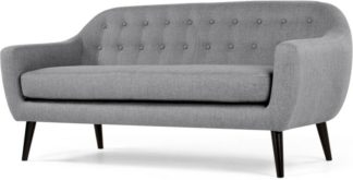 An Image of Ritchie 3 Seater Sofa, Pearl Grey