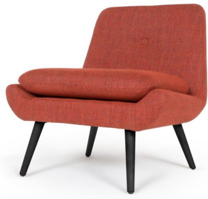 An Image of Jonny Accent Armchair, Revival Orange