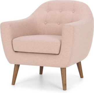 An Image of Ritchie Armchair, Orleans Pink