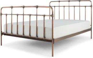 An Image of Starke Kingsize Bed, Copper