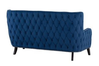 An Image of Margonia Two Seat Sofa - Blue