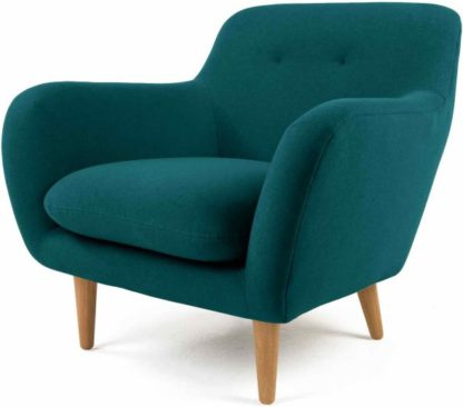 An Image of Dylan Armchair, Mineral Blue
