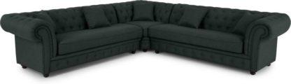 An Image of Branagh Corner Sofa, Anthracite Grey