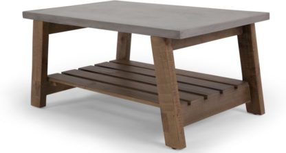 An Image of Bala Coffee Table, Concrete