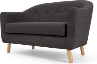 An Image of Lottie 2 Seater Sofa, Seal Grey