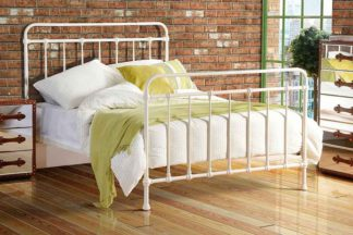 An Image of ISOBEL Victorian Dorm Style Cream Bed
