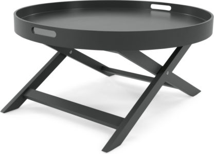 An Image of MADE Essentials Liam Coffee Table, Grey