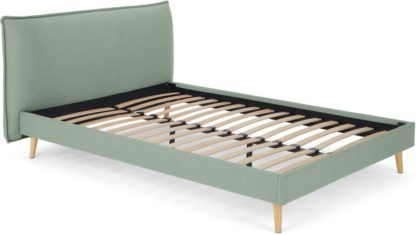 An Image of Piper Double Bed, Tarragon Green