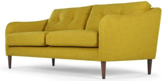 An Image of Content by Terence Conran Alban 3 Seater Sofa, Chartreuse