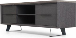 An Image of Boone TV Stand, Concrete resin top