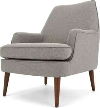 An Image of Martha Accent Chair, Mountain Grey