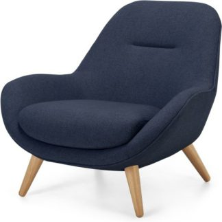 An Image of Karmello Accent Armchair, Flavio Blue