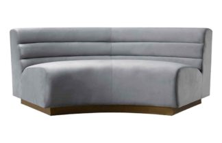 An Image of Cooper Sectional Sofa - Dove Grey