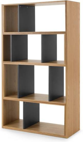 An Image of Kya Extending Shelves, Oak and Grey