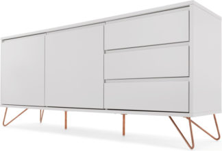 An Image of Elona Sideboard, Grey and Copper