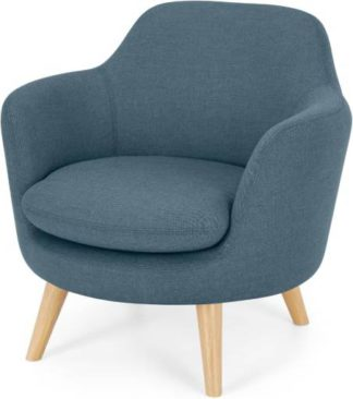 An Image of Nya Armchair, Duke Blue Weave