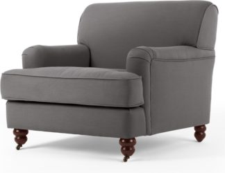 An Image of Orson Armchair, Graphite Grey