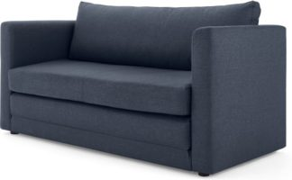 An Image of MADE Essentials Eli Sofa Bed, Quartz Blue