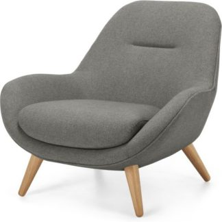 An Image of Karmello Accent Armchair, Flavio Grey