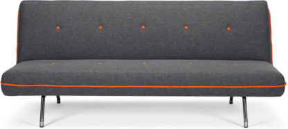 An Image of Miki Sofa Bed, Cygnet Grey