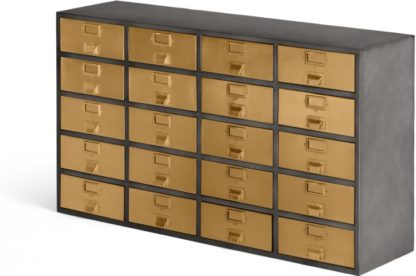 An Image of Stow Sideboard, Vintage Brass