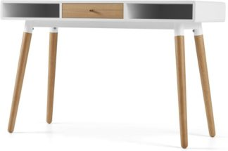 An Image of Edelweiss Desk, Oak and White