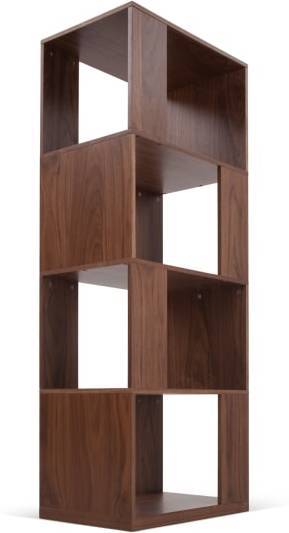 An Image of Kya Shelving Unit, Walnut