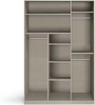 An Image of Caren 3 door Hinged Wardrobe Classic Accessory Package